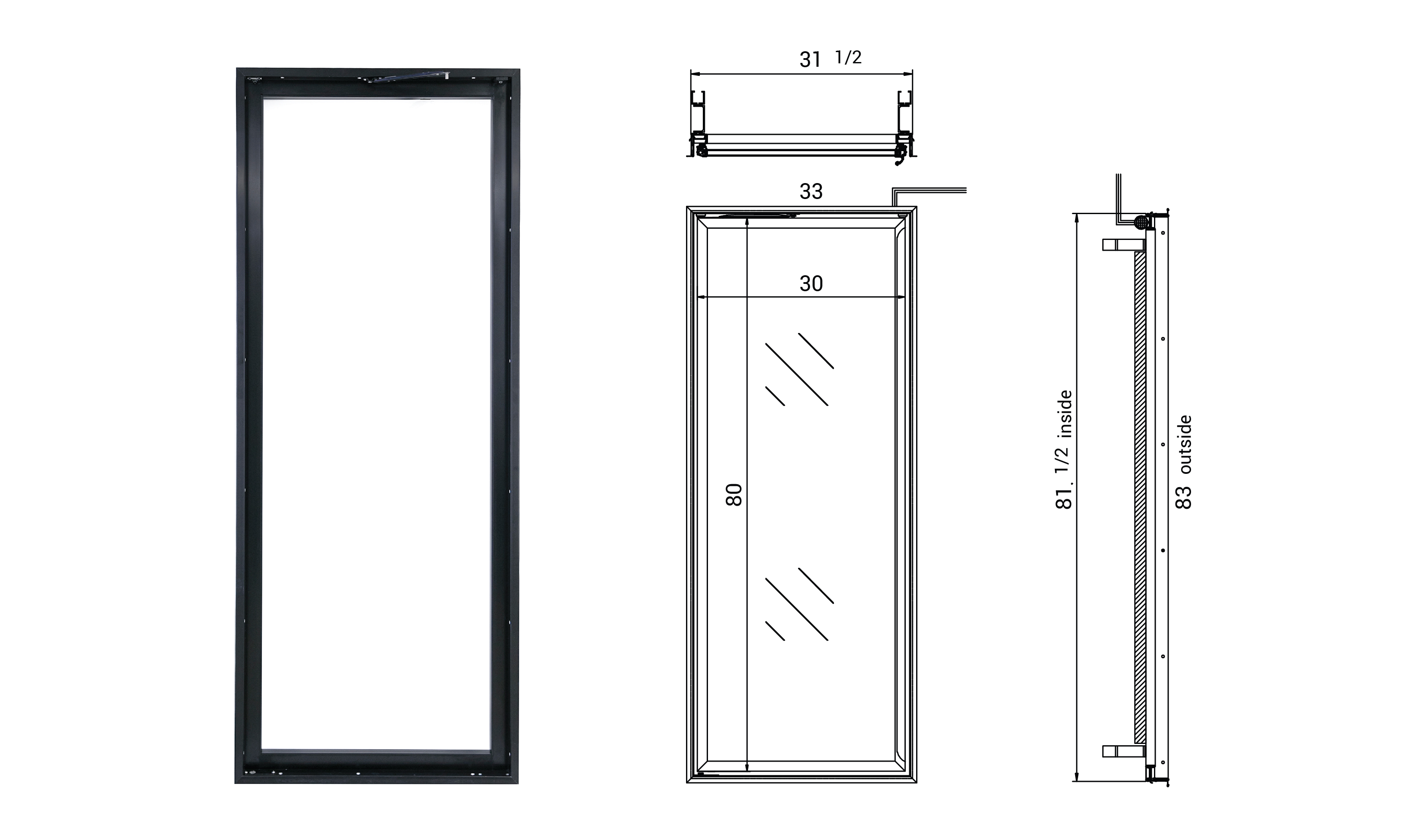 RW International - Glass Door Frames