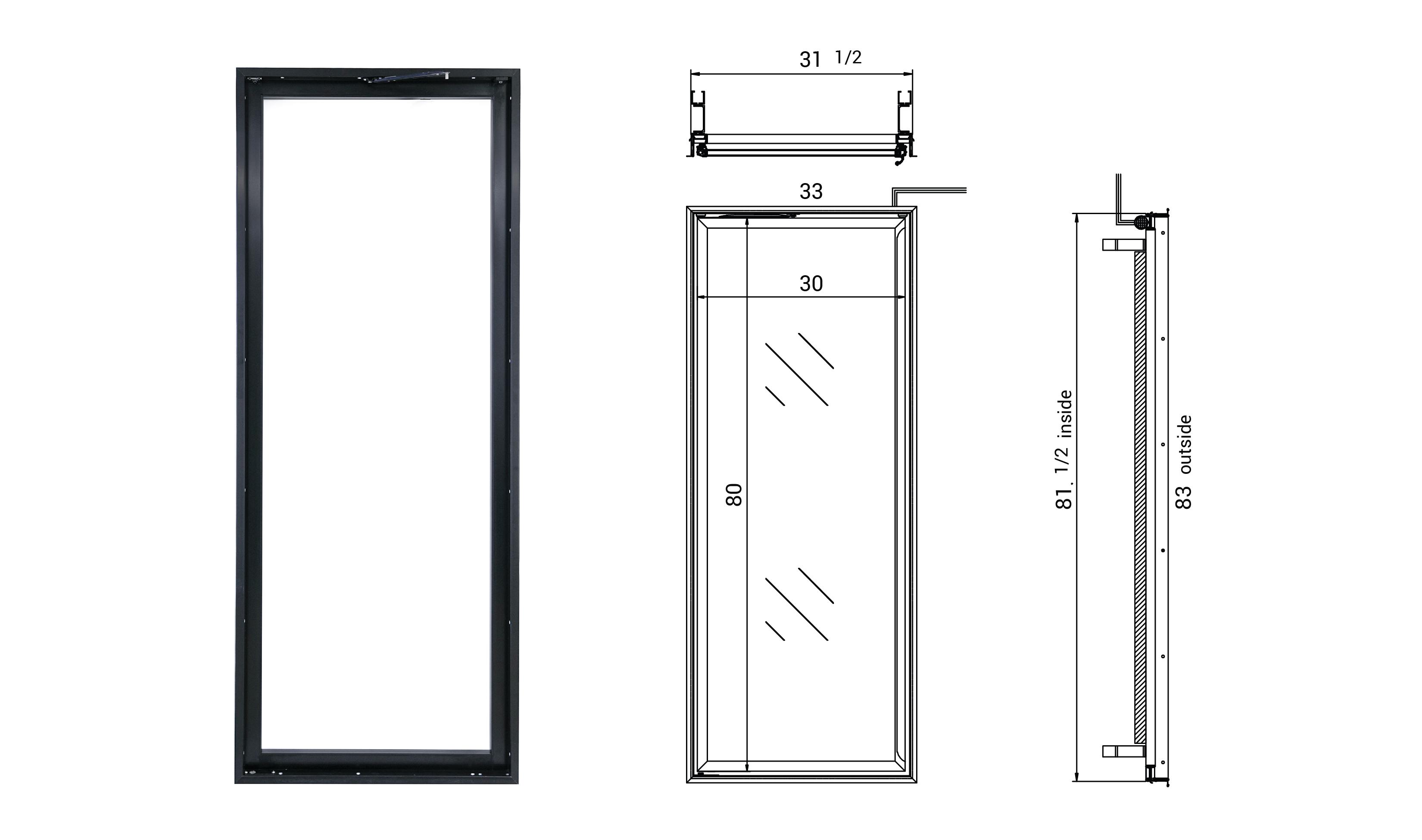 Glass Door Frames